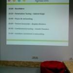 Agenda Intalnirii TdT Bucuresti - Ian 2014